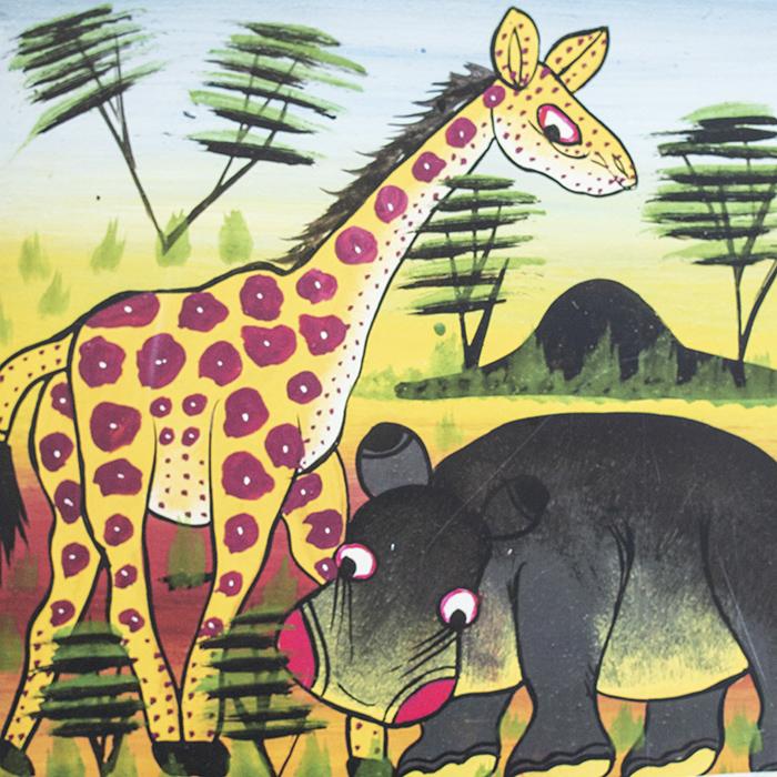 Tinga-tinga. Zwierzęta afrykańskie