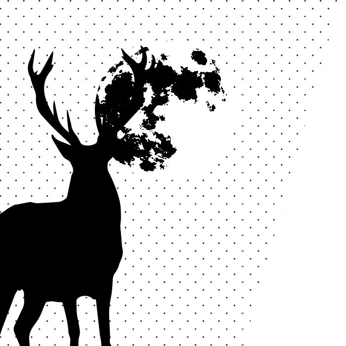 Grafika wcielenia jelenia