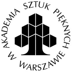 Logotyp Akademii Sztuk Pięknych w Warszawie