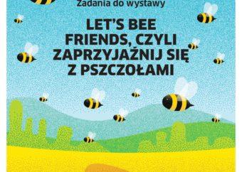 Grafika do wystawy Lets bi friends