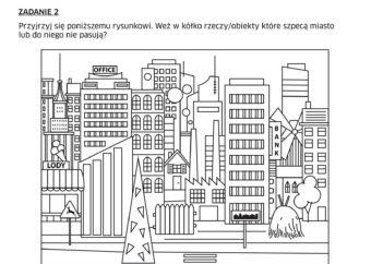 Karta pracy do wystawy: zaznaczanie elementów na grafice