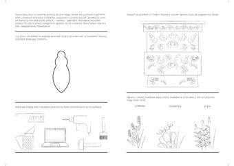 Karta z broszury edukacyjnej do wystawy do druku