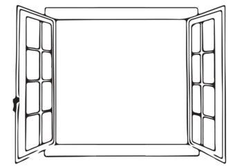 Karta pracy do wystawy: rysowanie widoku z okna