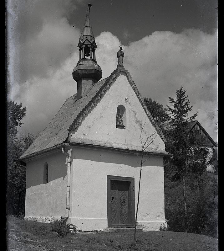 Kapliczka przydrożna w Chochorowicach_Arch. PME N.4052_1