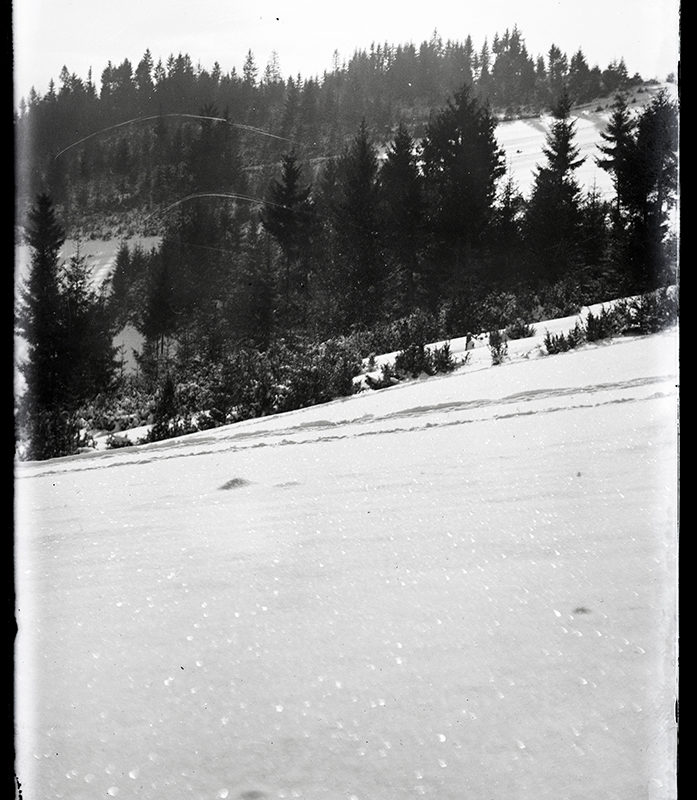 Krajobraz górski zimowy. Okolice Nowego Sącza_Arch. PME N. 4039_2
