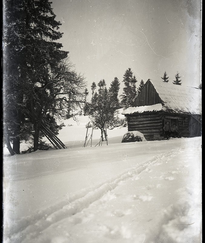 Krajobraz zimowy. Wycieczki w góry_Arch. PME N.4121_6