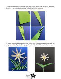 Część druga instrukcji tworzenia wiatraczka.