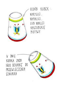 Grafika przedstawiająca instrukcję wykonania instrumentu. Opis poniżej grafik.