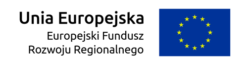 Logotyp Europejskiego Funduszu Rozwoju Regionalnego